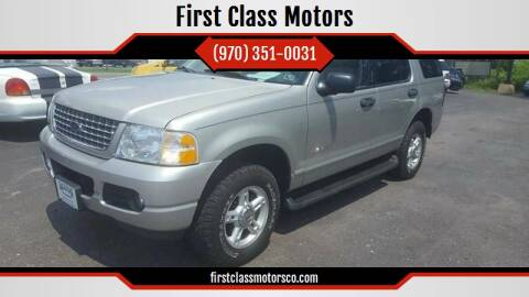 2004 Ford Explorer for sale at First Class Motors in Greeley CO
