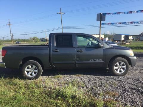 2009 Nissan Titan for sale at Affordable Autos in Houma LA