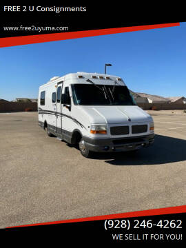 1999 Dynamax Corporation Isata  for sale at FREE 2 U Consignments in Yuma AZ