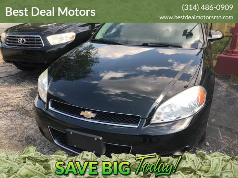 2013 Chevrolet Impala for sale at Best Deal Motors in Saint Charles MO