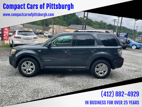 2008 Mercury Mariner for sale at Compact Cars of Pittsburgh in Pittsburgh PA