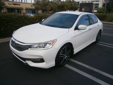 2017 Honda Accord for sale at Fiesta Motors in Winnetka CA