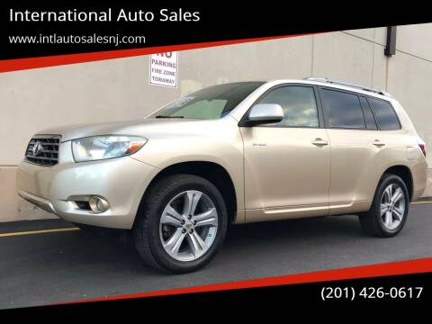 2009 Toyota Highlander for sale at International Auto Sales in Hasbrouck Heights NJ