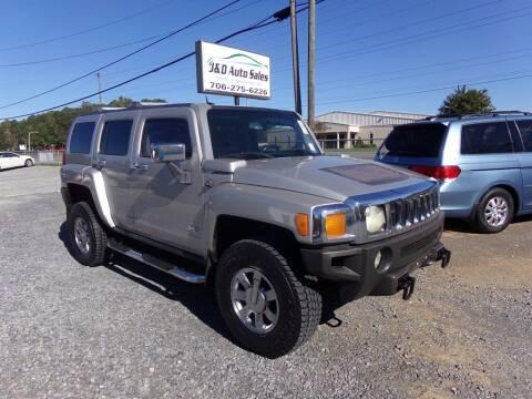 2006 HUMMER H3 for sale at J & D Auto Sales in Dalton GA