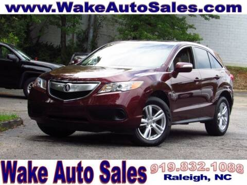 2013 Acura RDX for sale at Wake Auto Sales Inc in Raleigh NC