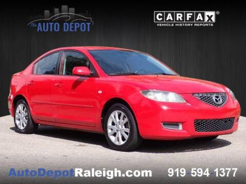 2007 Mazda MAZDA3 for sale at The Auto Depot in Raleigh NC