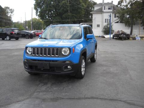 2015 Jeep Renegade for sale at Petillo Motors in Old Forge PA