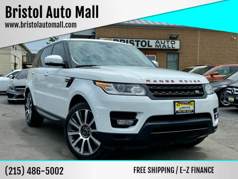 2015 Land Rover Range Rover Sport for sale at Bristol Auto Mall in Levittown PA