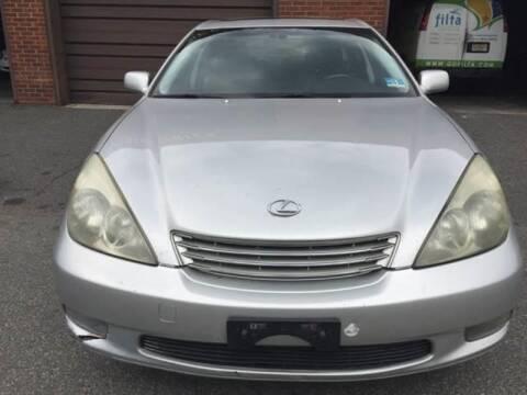 2002 Lexus ES 300 for sale at SUNSHINE AUTO SALES LLC in Paterson NJ