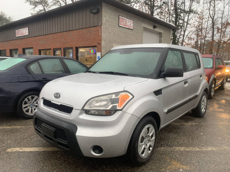 2010 Kia Soul for sale at Official Auto Sales in Plaistow NH