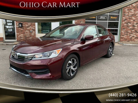 2017 Honda Accord for sale at Ohio Car Mart in Elyria OH