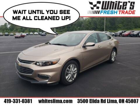 2018 Chevrolet Malibu for sale at White's Honda Toyota of Lima in Lima OH