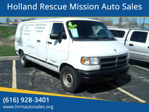 1997 Dodge Ram Van for sale at Holland Rescue Mission Auto Sales in Holland MI