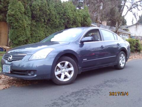 2007 Nissan Altima Hybrid for sale at Redline Auto Sales in Vancouver WA