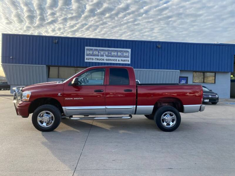 2006 Dodge Ram Pickup 2500 for sale at HATCHER MOBILE SERVICES & SALES in Omaha NE