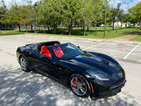2014 Chevrolet Corvette for sale at ELITE AUTO WORLD in Fort Lauderdale FL