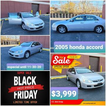 2007 Honda Accord for sale at U.S. Auto Group in Chicago IL