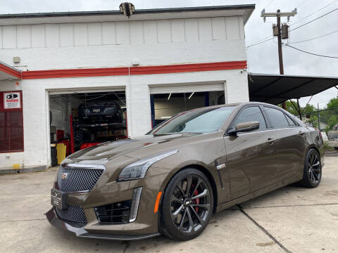 2019 Cadillac CTS-V for sale at FAST LANE AUTO SALES in San Antonio TX