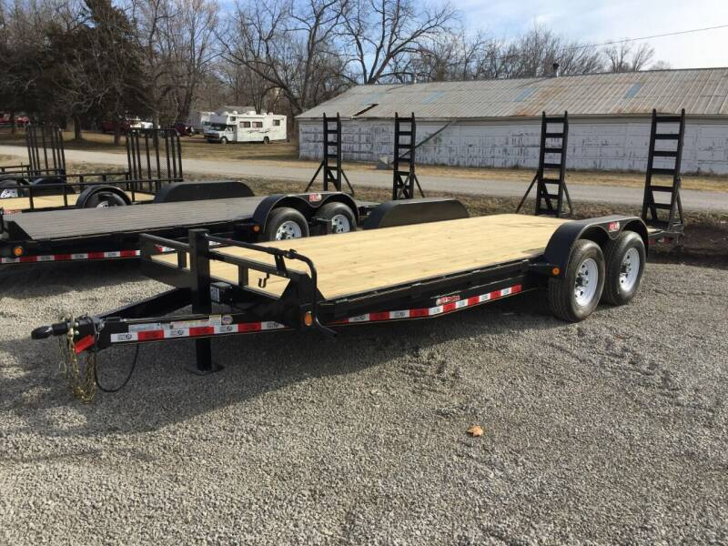 "2020 GRTrailers 82""x20' 14k Car Hauler Utility for sale at Bailey Auto in Pomona KS"