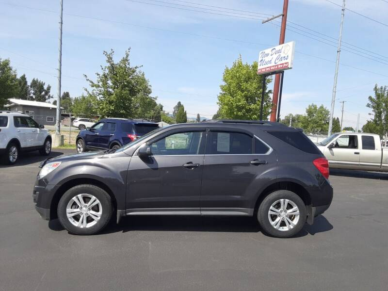 2015 Chevrolet Equinox for sale at New Deal Used Cars in Spokane Valley WA