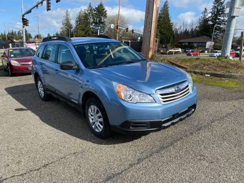 2011 Subaru Outback for sale at KARMA AUTO SALES in Federal Way WA