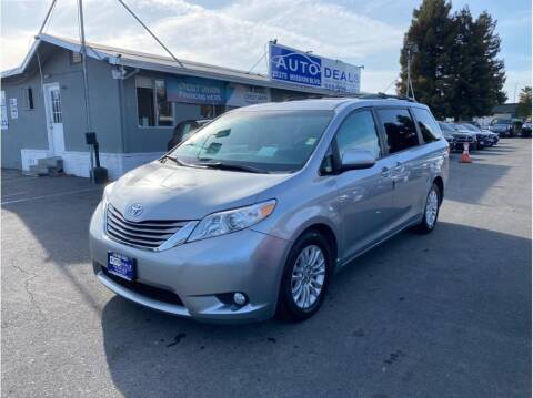 2015 Toyota Sienna for sale at AutoDeals in Hayward CA