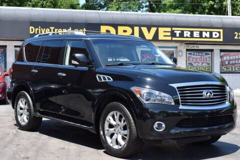 2011 Infiniti QX56 for sale at DRIVE TREND in Cleveland OH