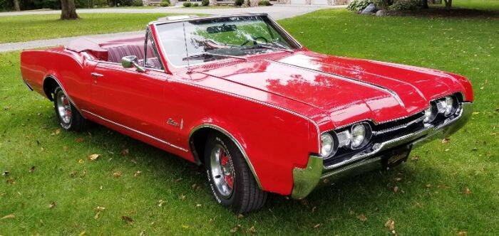 1967 Oldsmobile Cutlass for sale at Haggle Me Classics in Hobart IN