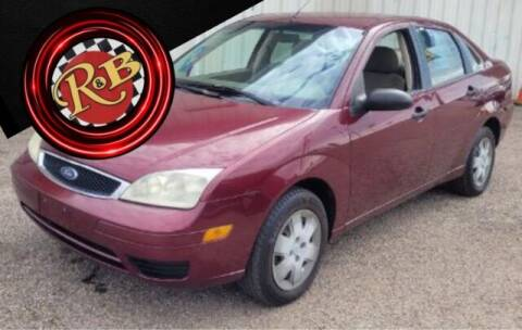 2007 Ford Focus for sale at www.rnbfinance.com in Dallas TX