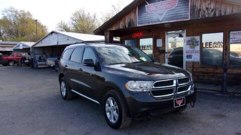 2011 Dodge Durango for sale at LEE AUTO SALES in McAlester OK