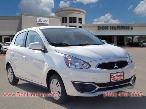 2020 Mitsubishi Mirage for sale at Don Herring Mitsubishi in Plano TX