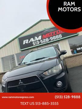 2012 Mitsubishi Outlander for sale at RAM MOTORS in Cincinnati OH