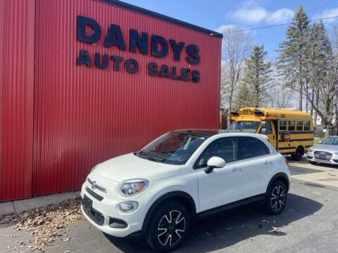2016 FIAT 500X for sale at Dandy's Auto Sales in Forest Lake MN