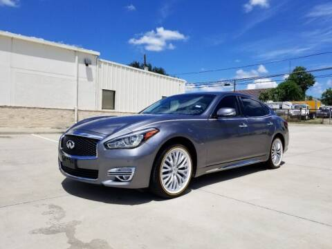2015 Infiniti Q70L for sale at A & J Enterprises in Dallas TX
