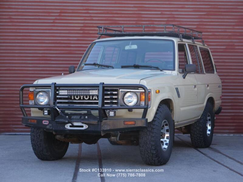 1986 Toyota Land Cruiser for sale at Sierra Classics & Imports in Reno NV
