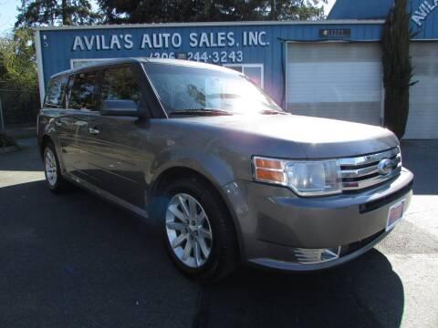 2010 Ford Flex for sale at Avilas Auto Sales Inc in Burien WA
