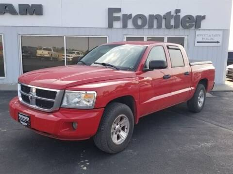 2008 Dodge Dakota for sale at Frontier Motors Automotive, Inc. in Winner SD