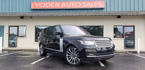 2017 Land Rover Range Rover for sale at PAUL YODER AUTO SALES INC in Sarasota FL