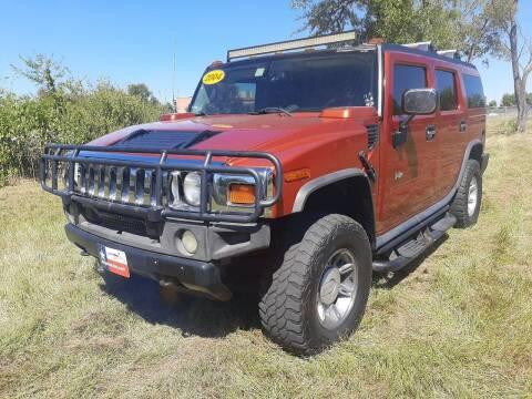 2004 HUMMER H2 for sale at LA PULGA DE AUTOS in Dallas TX