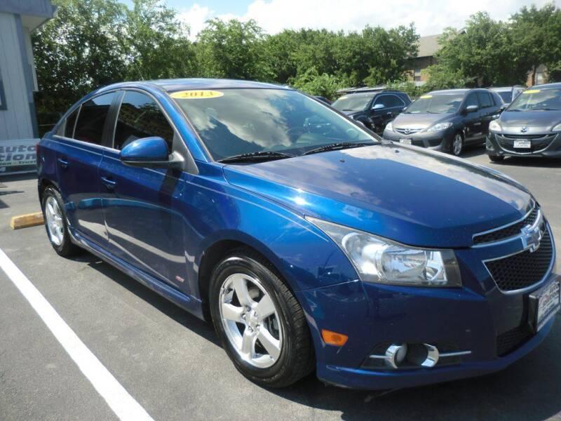 2013 Chevrolet Cruze for sale at Auto Solution in San Antonio TX