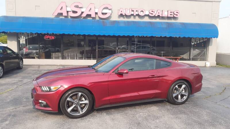 2015 Ford Mustang for sale at ASAC Auto Sales in Clarksville TN