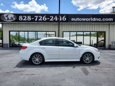 2014 Subaru Legacy for sale at AutoWorld of Lenoir in Lenoir NC