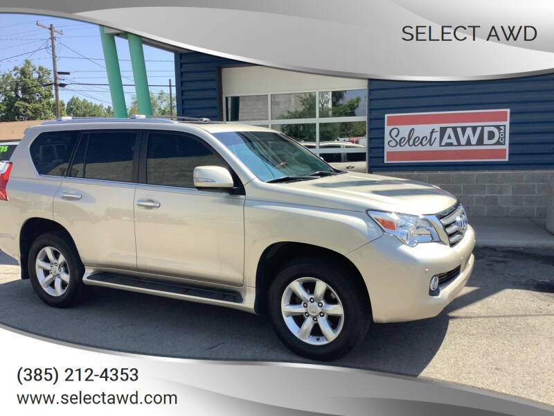 2011 Lexus GX 460 for sale at Select AWD in Provo UT