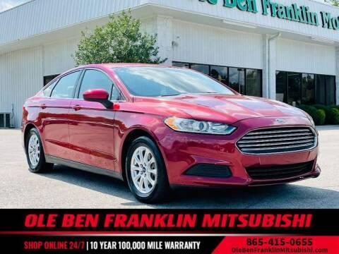 2016 Ford Fusion for sale at Ole Ben Franklin Mitsbishi in Oak Ridge TN