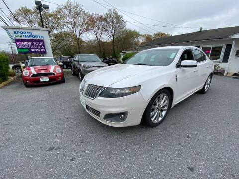 2012 Lincoln MKS for sale at Sports & Imports in Pasadena MD