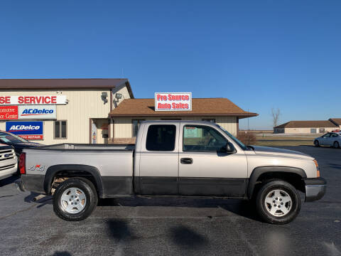 2005 Chevrolet Silverado 1500 for sale at Pro Source Auto Sales in Otterbein IN