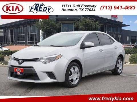 2016 Toyota Corolla for sale at FREDYS CARS FOR LESS in Houston TX