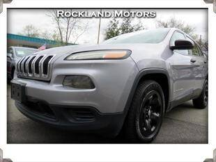 2015 Jeep Cherokee for sale at Rockland Automall - Rockland Motors in West Nyack NY
