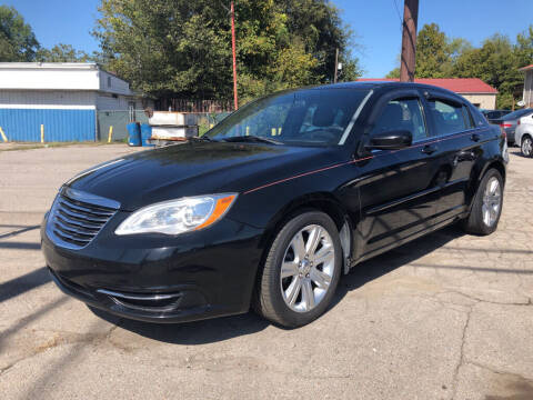 2012 Chrysler 200 for sale at Wolff Auto Sales in Clarksville TN