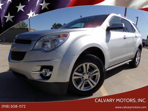 2015 Chevrolet Equinox for sale at Calvary Motors, Inc. in Bixby OK